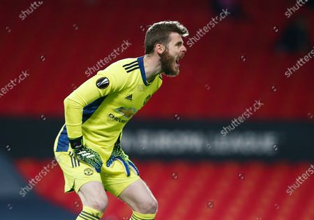 Manchester United goalkeeper David De Gea