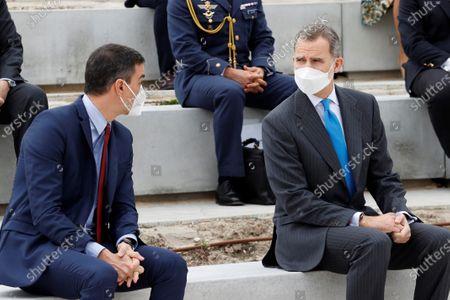 King Felipe VI opens Airbus Defense & Space Campus, Getafe