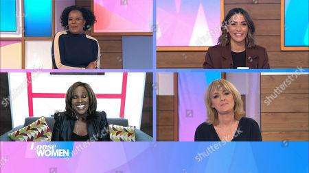 Charlene White, Frankie Bridge, Kelle Bryan, Jane Moore