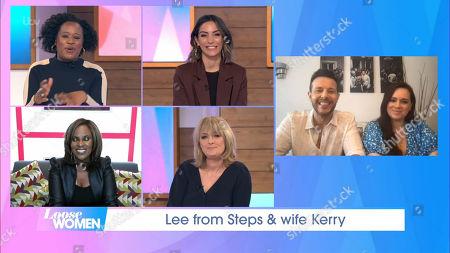 Lee Latchford-Evans, Kerry-Lucy Taylor, Charlene White, Frankie Bridge, Kelle Bryan, Jane Moore