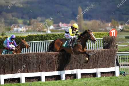 Win My Wings and Nick Scholfield win the Catesby Estates Mares' Handicap Chase at Cheltenham.