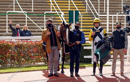 Editorial picture of Horse Racing - 15 Apr 2021