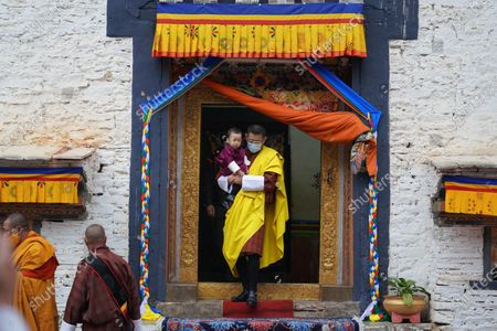 Majesty King Jigme Khesar Namgyel Wangchuck and Queen Jetsun Pema Wangchuck visited Mongar Dzong accompanied by Their Royal Highnesses Gyalsey Jigme Namgyel and Gyalsey Ugyen Wangchuck.
