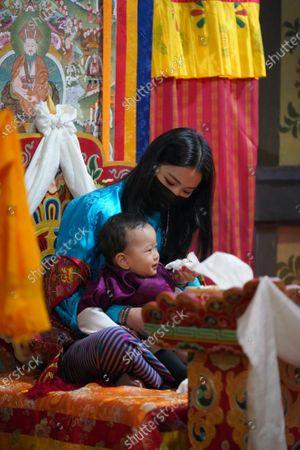Editorial image of King Jigme Khesar Namgyel Wangchuck and Queen Jetsun Pema, Mongar Dzong, Bhutan - 15 Apr 2021