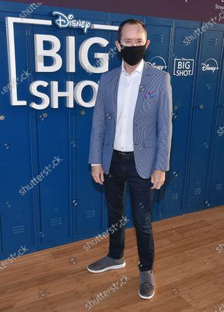 Editorial picture of 'Big Shot' drive-in premiere, Los Angeles, California, USA - 14 Apr 2021