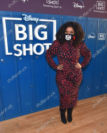 Editorial image of 'Big Shot' drive-in premiere, Los Angeles, California, USA - 14 Apr 2021
