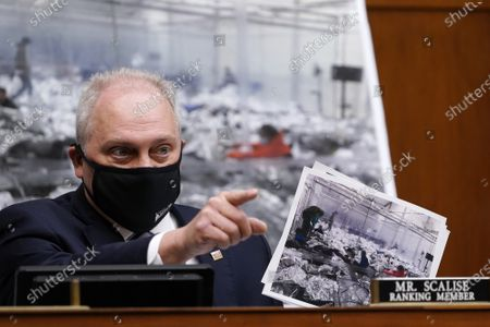 House Minority Whip Steve Scalise, R-La., speaks about immigration conditions on the border during a House Select Subcommittee on the Coronavirus Crisis at the U.S. Capitol in Washington DC, on Thursday, April 15, 2021.