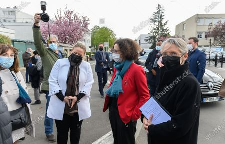 Nadia Hai, Emmanuelle Wargon and Elisabeth Borne