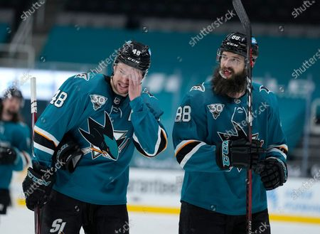 Editorial picture of Ducks Sharks Hockey, San Jose, United States - 14 Apr 2021
