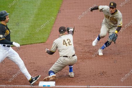 Editorial picture of Padres Pirates Baseball, Pittsburgh, United States - 15 Apr 2021