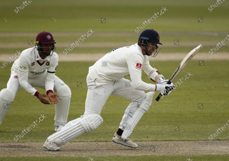 Tom Bailey of Lancashire; Emirates Old Trafford, Manchester, Lancashire, England; English County Cricket, Lancashire versus Northants.