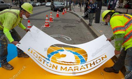 Editorial picture of Boston Marathon Bombing 8th Anniversary, USA - 15 Apr 2021