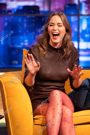 Editorial picture of 'The Jonathan Ross Show' TV show, Series 17, Episode 2, London, UK - 17 Apr 2021