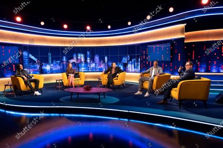AJ Tracey, Emily Blunt, Jonathan Ross, Anthony Joshua and Alan Carr
