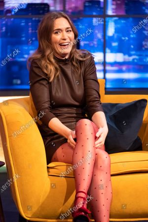 Editorial image of 'The Jonathan Ross Show' TV show, Series 17, Episode 2, London, UK - 17 Apr 2021