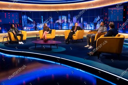 Editorial photo of 'The Jonathan Ross Show' TV show, Series 17, Episode 2, London, UK - 17 Apr 2021
