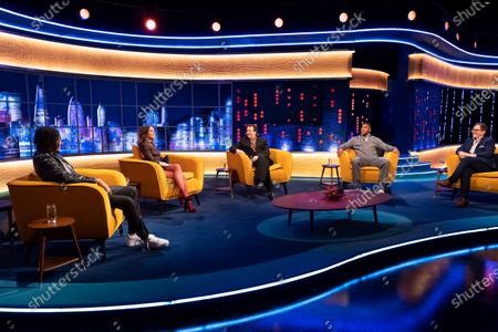 Stock Picture of AJ Tracey, Emily Blunt, Jonathan Ross, Anthony Joshua and Alan Carr