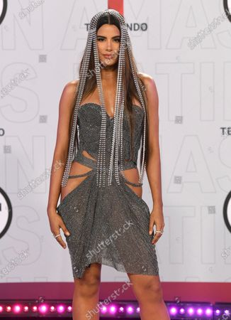 Stock Picture of Ariadna Gutierrez arrives at the Latin American Music Awards at the BB&T Center, in Sunrise, Fla