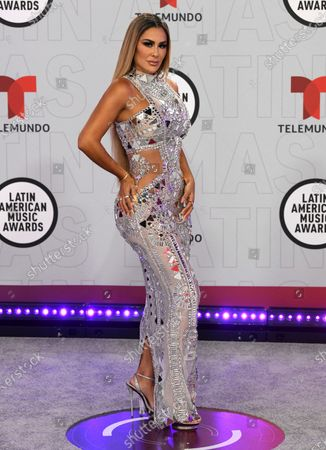 Ninel Conde arrives at the Latin American Music Awards at the BB&T Center, in Sunrise, Fla