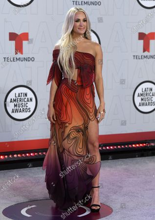 Editorial picture of 2021 Latin American Music Awards, Sunrise, United States - 15 Apr 2021