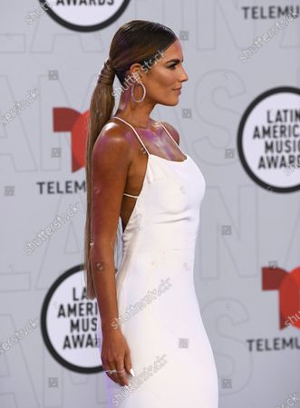 Stock Photo of Gaby Espino arrives at the Latin American Music Awards at the BB&T Center, in Sunrise, Fla