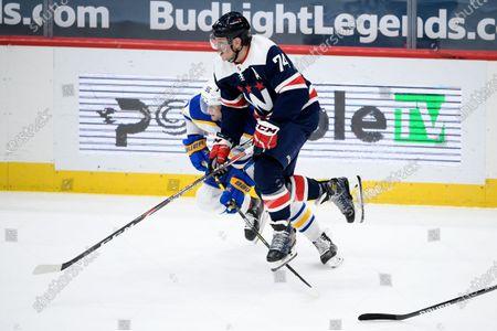 Editorial image of Sabres Capitals Hockey, Washington, United States - 15 Apr 2021