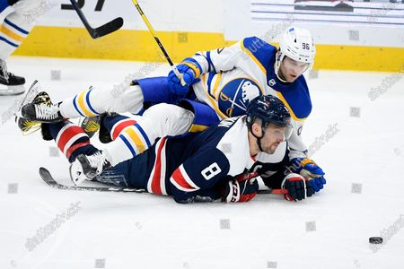 Editorial picture of Sabres Capitals Hockey, Washington, United States - 15 Apr 2021
