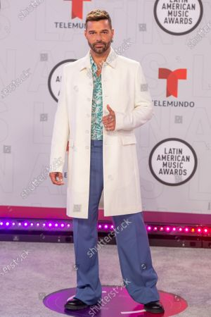 Editorial picture of 2021 Latin American Music Awards - Red Carpet, Sunrise, USA - 15 Apr 2021