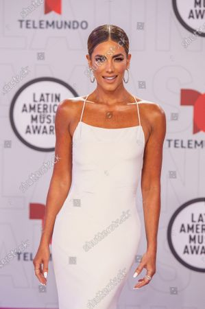 Gaby Espino arrives on the red carpet for the Sixth Annual Latin American Music Awards at the BB&T Center in Sunrise, Florida, USA, 15 April 2021. The Latin American Music Award nominations are based on fan interactions with music in areas of sales, streaming and airplay as tracked by Billboard for the period 17 January 2020 through 21 January 2021.