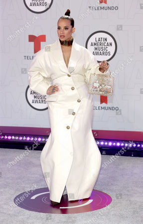 Editorial photo of Latin American Music Awards, Arrivals, BB&T Center, Sunrise, Florida, USA - 15 Apr 2021