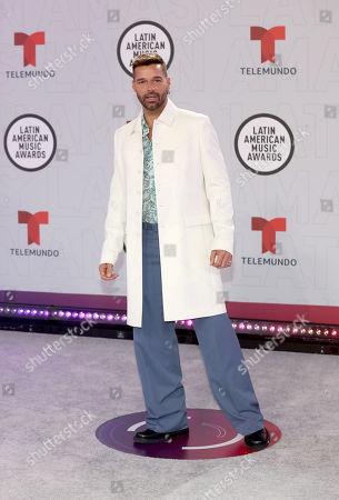 Stock Photo of Ricky Martin