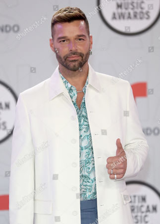 Stock Picture of Ricky Martin