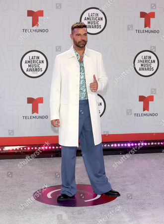 Stock Image of Ricky Martin