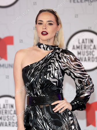 Editorial image of Latin American Music Awards, Arrivals, BB&T Center, Sunrise, Florida, USA - 15 Apr 2021