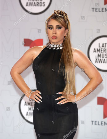 Editorial picture of Latin American Music Awards, Arrivals, BB&T Center, Sunrise, Florida, USA - 15 Apr 2021