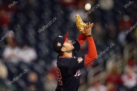 Editorial image of Diamondbacks Nationals Baseball, Washington, United States - 15 Apr 2021