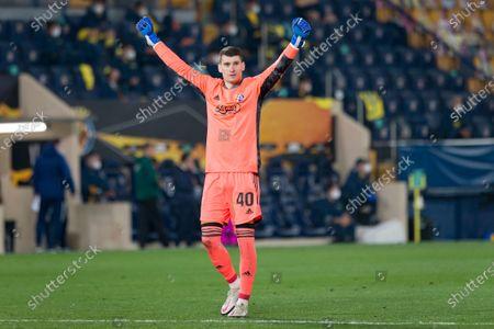 Editorial image of Villarreal Vs Dynamo Zagreb in Villarreal, Spain - 15 April 2021