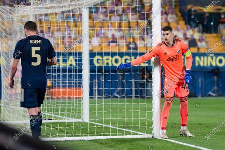 Editorial photo of Villarreal Vs Dynamo Zagreb in Villarreal, Spain - 15 April 2021