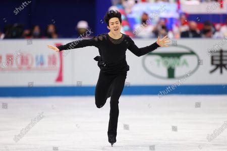 Nathan Chen (USA) - Figure Skating :  ISU World Team Trophy in Figure Skating 2021  Men's Free Skating  at Maruzen Intec Arena Osaka, Osaka, Japan.