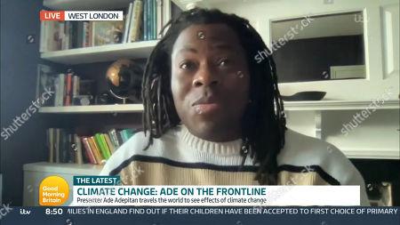 Editorial photo of 'Good Morning Britain' TV Show, London, UK - 16 Apr 2021