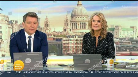 Editorial picture of 'Good Morning Britain' TV Show, London, UK - 16 Apr 2021