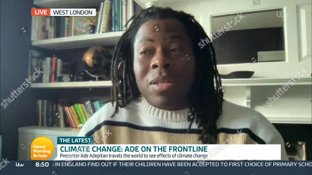 Stock Picture of Ade Adepitan