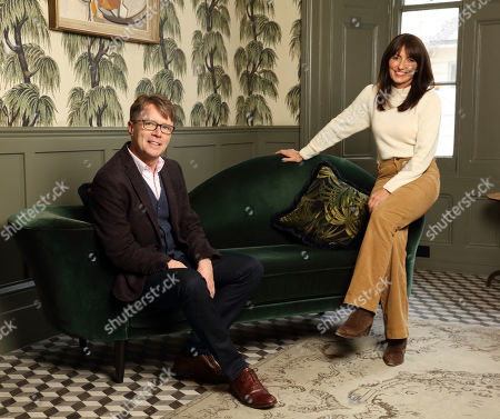 Nicky Campbell and Davina McCall