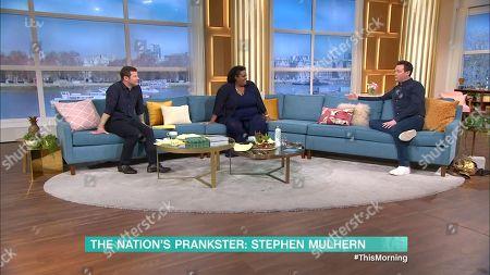 Dermot O'Leary, Alison Hammond and Stephen Mulhern