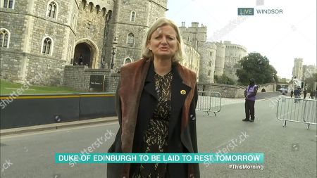 Editorial picture of 'This Morning' TV Show, London, UK - 16 Apr 2021