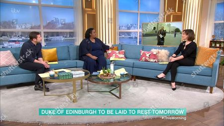 Editorial image of 'This Morning' TV Show, London, UK - 16 Apr 2021