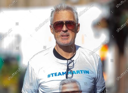 Editorial image of Martin Kemp out and about, London, UK - 16 Apr 2021