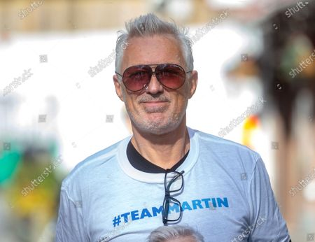 Stock Photo of Martin Kemp out and about.