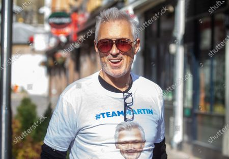 Stock Picture of Martin Kemp out and about.