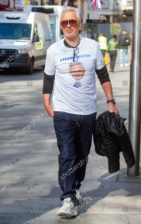 Martin Kemp out and about.